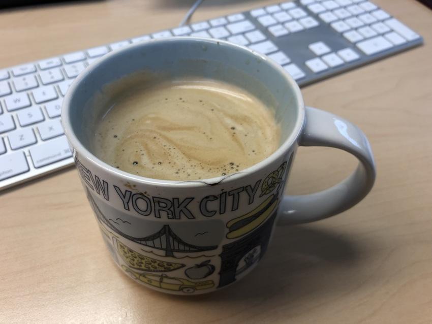 コーヒーを一杯ください。