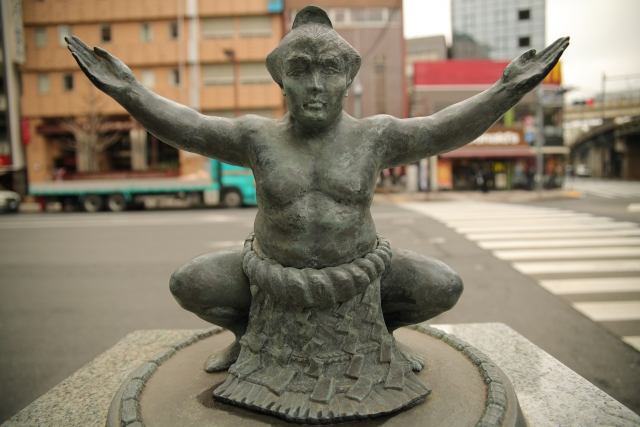 相撲は日本の国技とされています