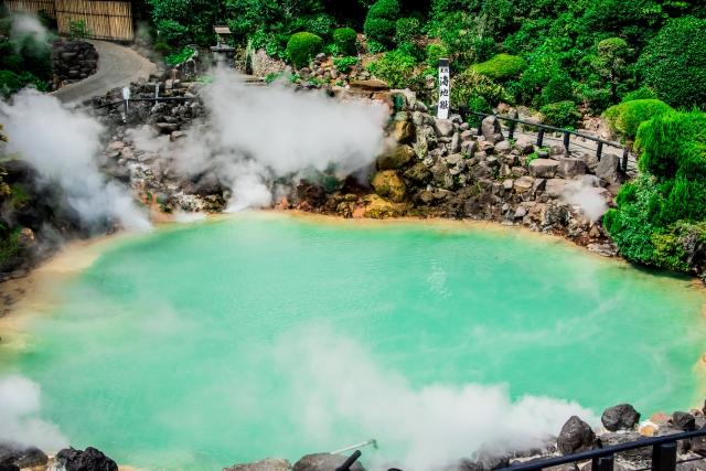 日本には温泉がたくさんあります