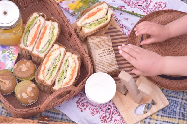 昨日ピクニックに行きました