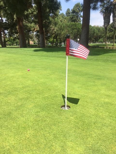 ロサンゼルスのゴルフ練習コース