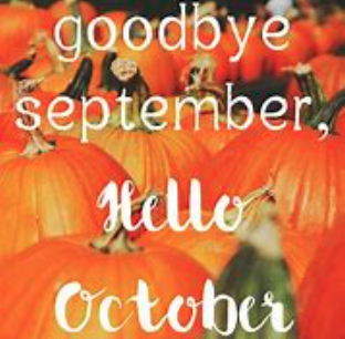 Here's to October!!