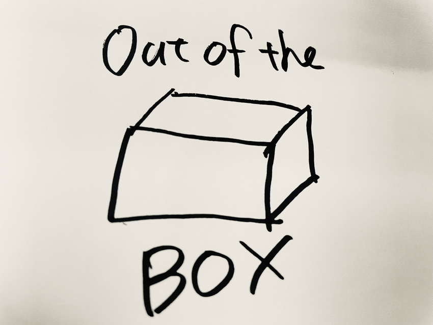 out of the box ...