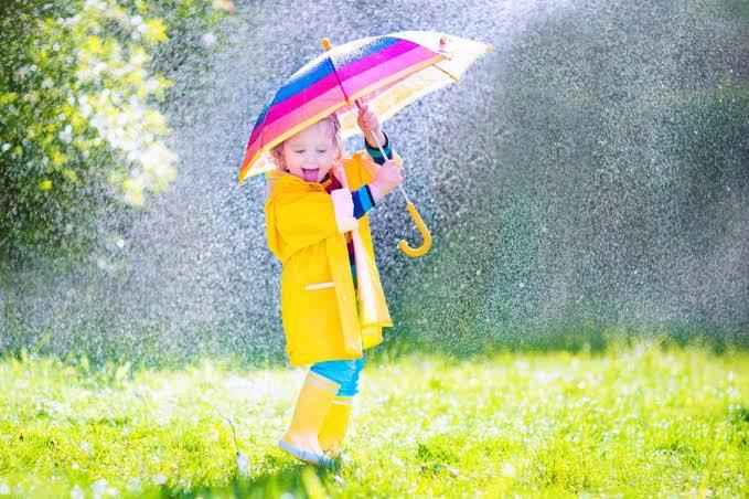 780.雨の日はラッキー⭐️