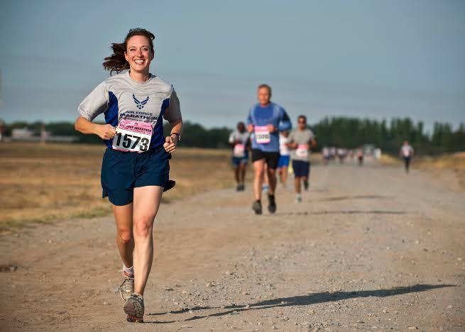 844.マラソンランナー。がん...
