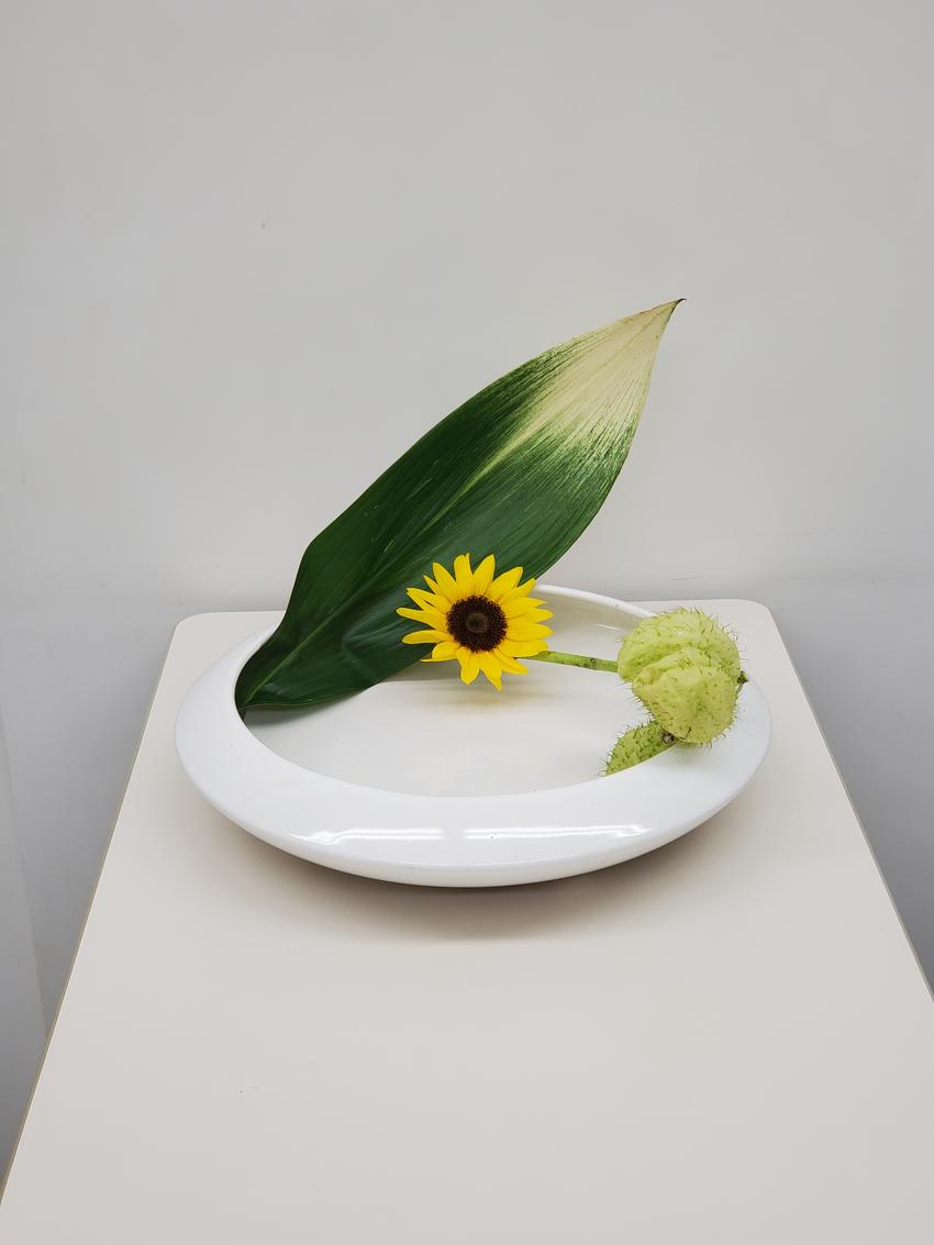 本日の生け花
