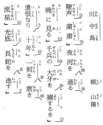 日本語読み+読み仮名がある!!...