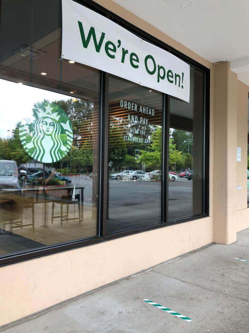 Starbucks is Now Open