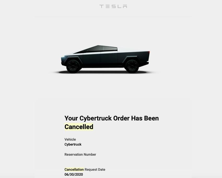 Cybertruck Cancelled!!!