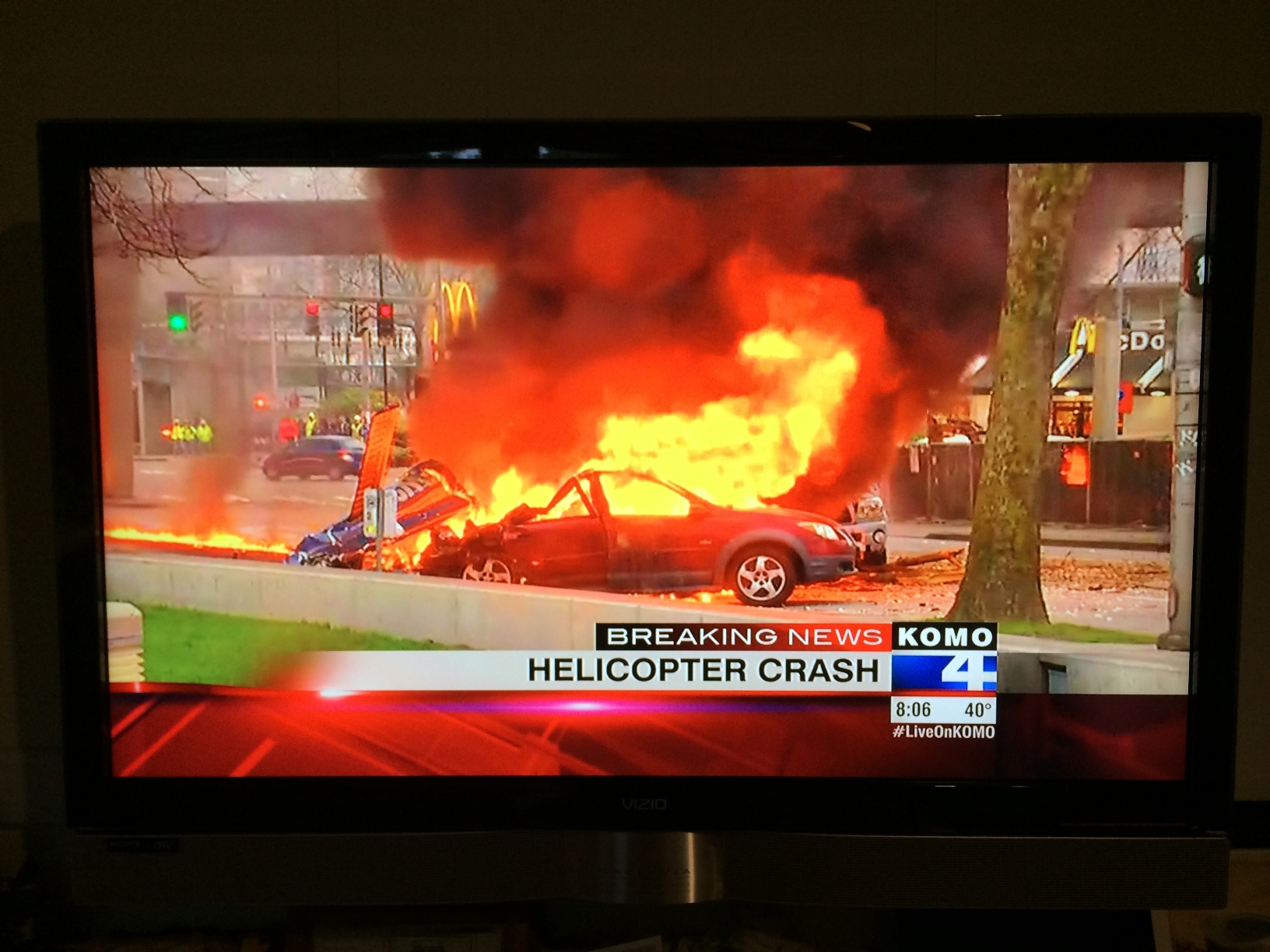 Helicopter Crash at Fisher Plaza - Welcome to Ucikura's Blog - Bloguru