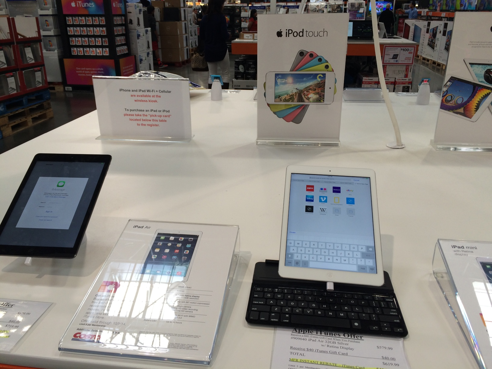 Apple products are on sale at COSTCO - Welcome to Ucikura's