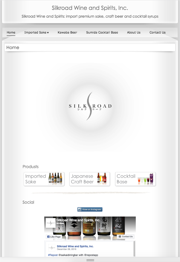 New Silkroad Wine & Spirits ...