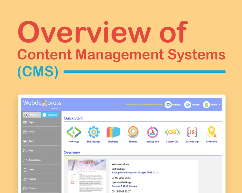 Overview of Content Manageme...
