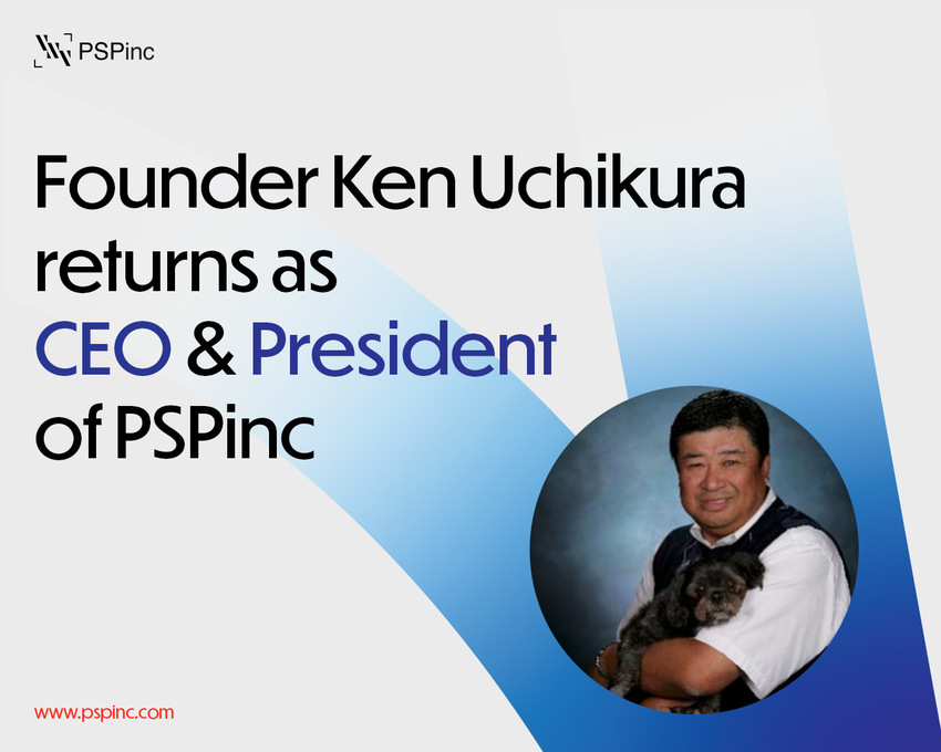 Founder Ken Uchikura returns...