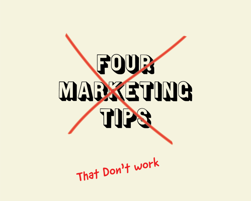 4 Marketing Tip...