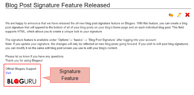 Blog Post Signature Feature Re...