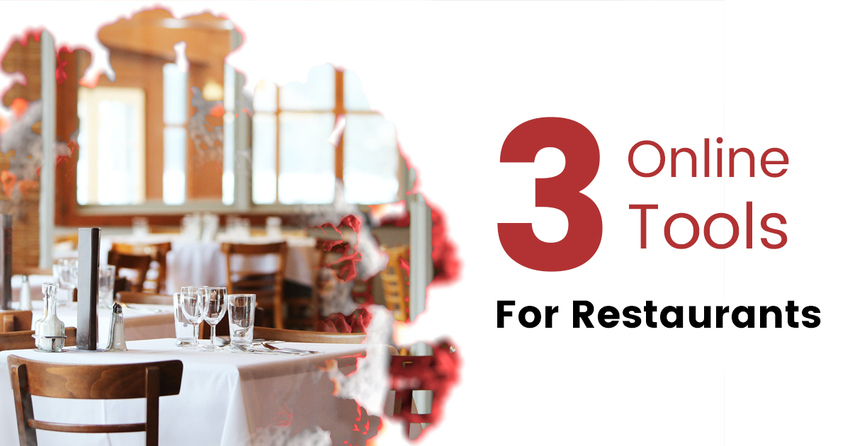 3 Online Tools for Restaurants...