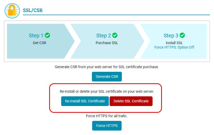 Dreamersi Delete SSL Certifica...