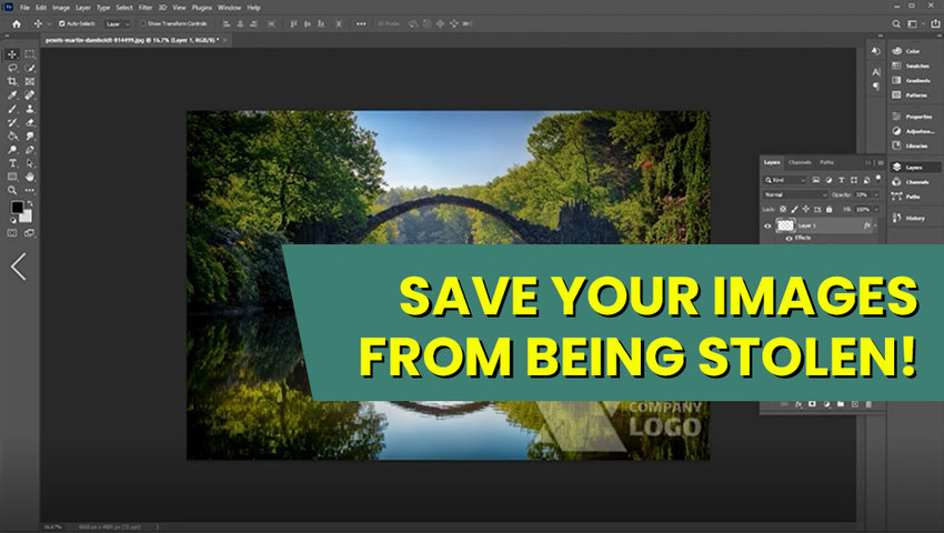 Watermarking your images usi...