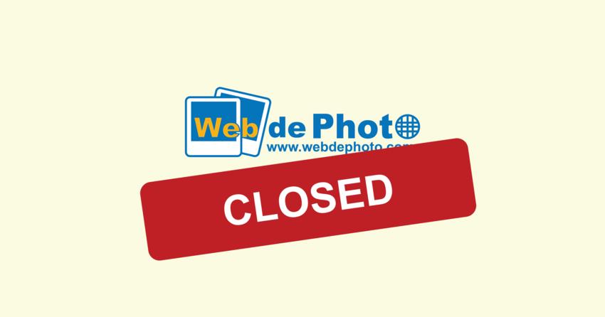 WebdePhoto shutting down at t...