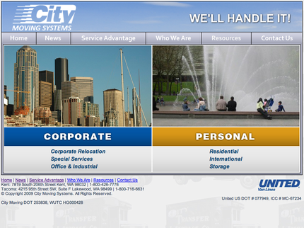 Web Site Renewal - City Movin...