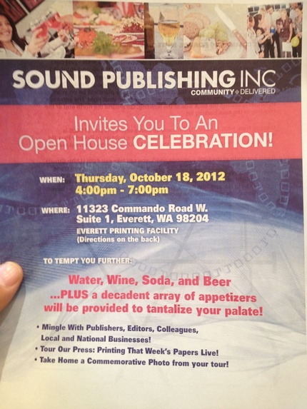 Open House at Sound Publishing