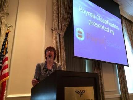 Janet Pluntze of Payroll Solutions
