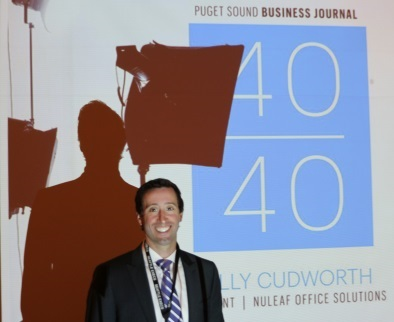 "Kelly Cudworth ""40 Under 40""..."
