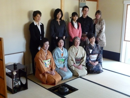 Tea Ceremony Class on 3/19/11