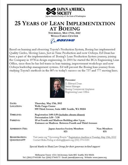 5/17/12 25 Years of Lean at ...