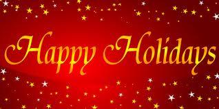 Happy Holidays From E&...