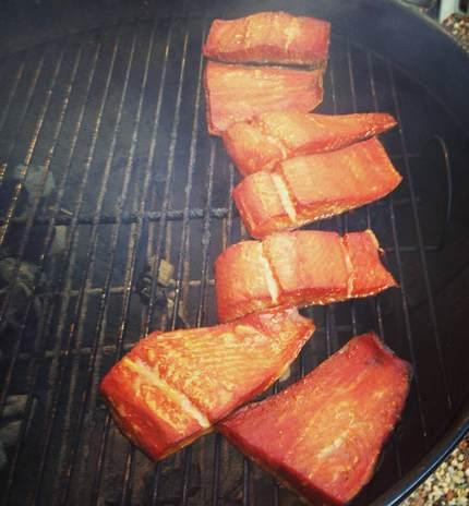 Salmon Tailgate