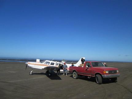 An offload into a Coastal Air pl...