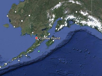 Coffee Point is located on Brist...