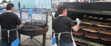 Chef Brian doing fine work pro...