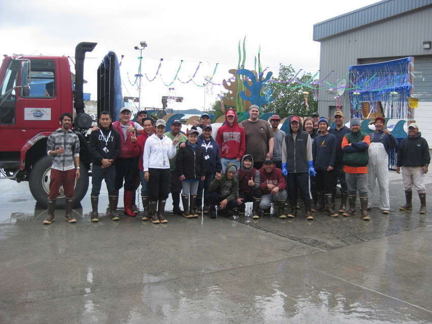 Yakutat's parade float and its ...