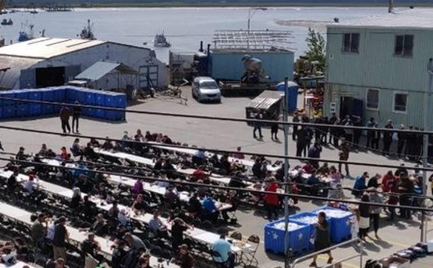 Pac Star Hosts 200 Fishermen...