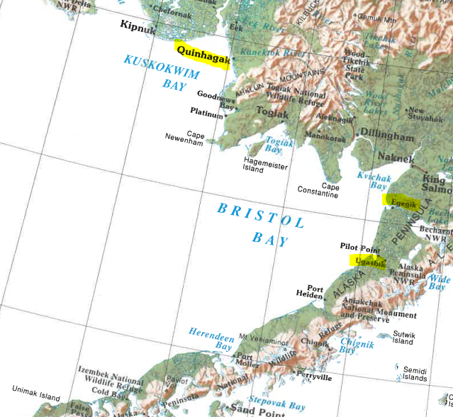Bristol Bay, home to the world...