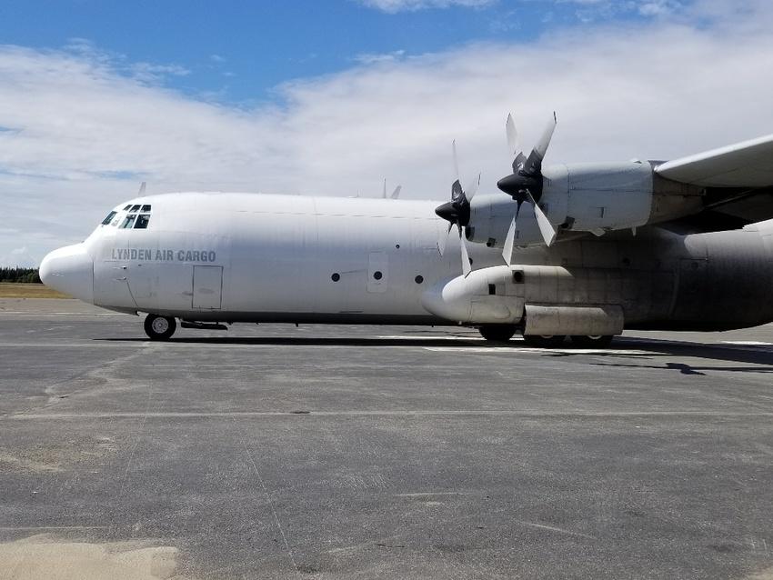Lynden Air Cargo's Hercules ...