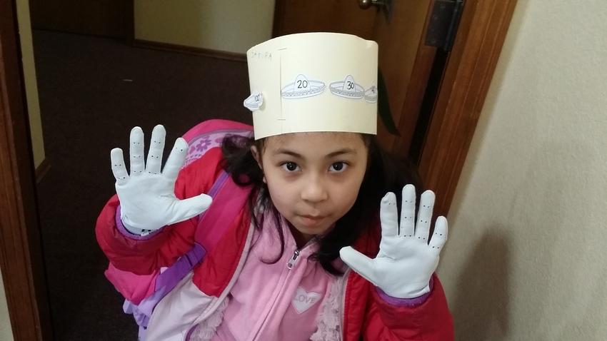 チェリーちゃんお気に入りの手袋...