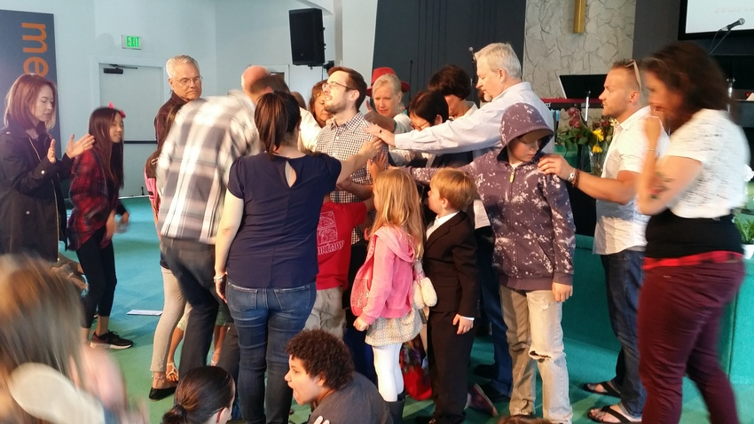 今日で、英語教会の子供教会の牧...