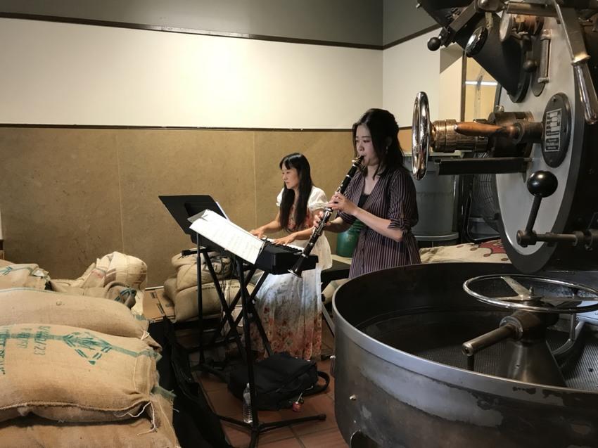 礼拝後、るりこさんと安藤さんの...