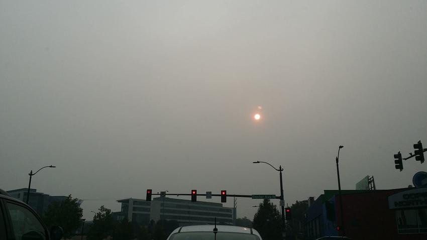 先週の月曜日8/20のシアトル...
