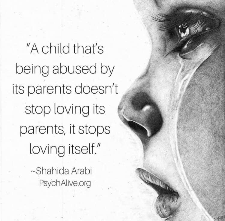 自分の親に虐待を受けた子供は、...