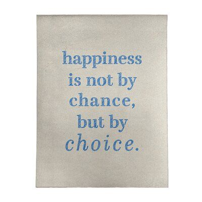 幸せは、偶然訪れない、 あなた...