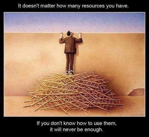 あなたがどんなにたくさんの資源...