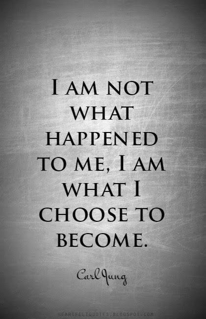 私に起こったことは、私ではない...