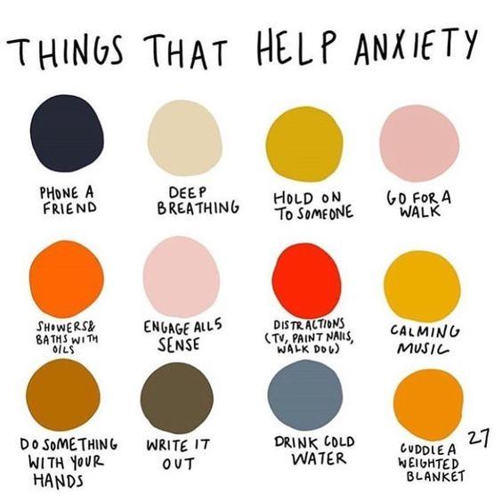 不安神経症の助けになること: ...