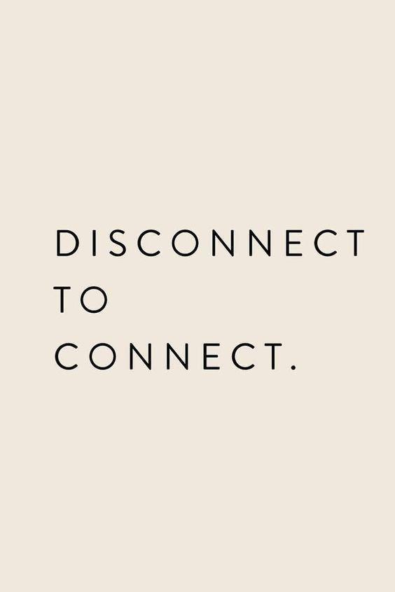 繋がるために、切り離す。
