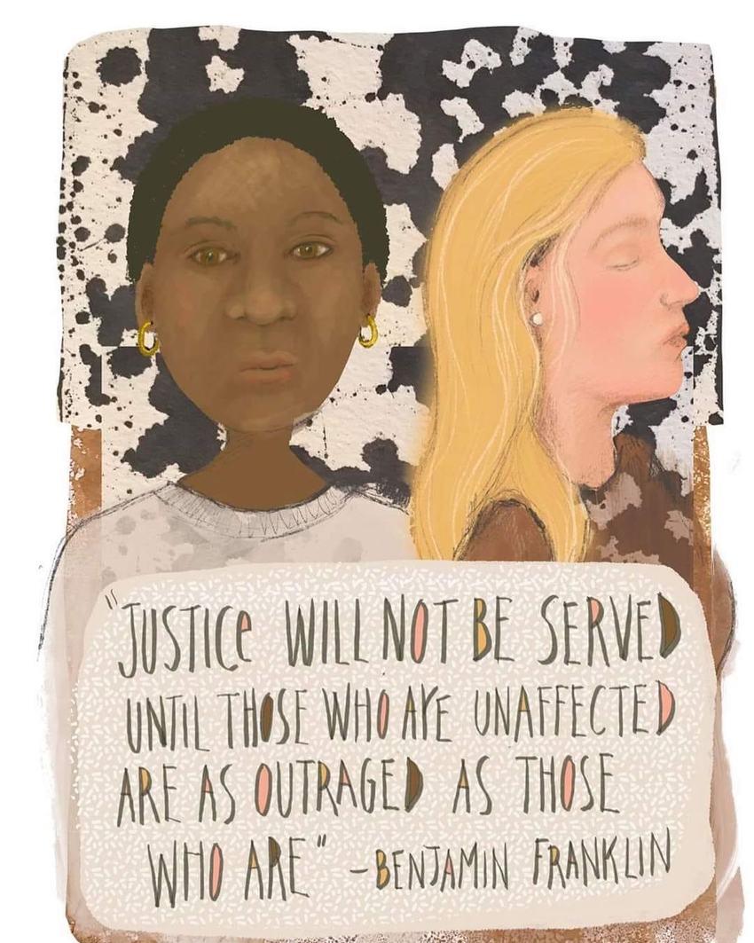 正義は、被害を受けてない人が我...